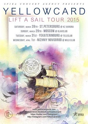 Metal Afisha предстоящих концертов .:. - Новости: Yellowcard ...